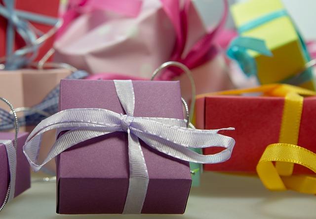 mašličky na dárkách