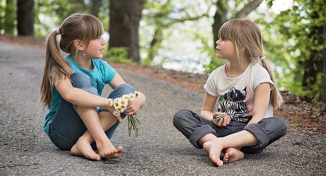 povídání holčiček