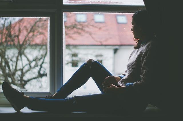 odpočinek na okně
