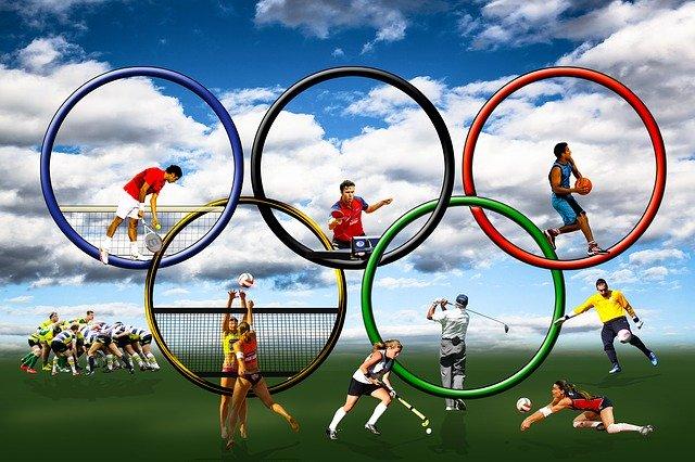 kruhy, olympiáda, pohyb
