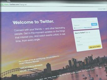 Twitter a jiné